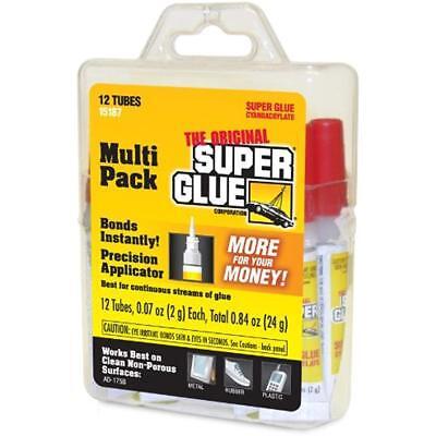 Original Super Glue Multi Pack Metal Aluminum Plastics Ceramics Wood Home Office