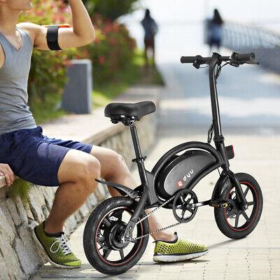 DYU Bicicleta Electrica Plegable Pedaleo asistido ciclomotor E-Bike 36V 250W