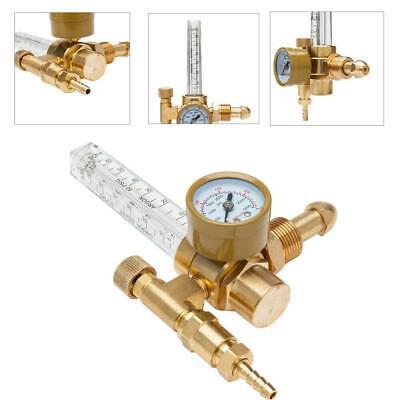 Cga-580 Mig Tig Flow Meter Regulator Welding Flow Meter Gauge For Argon Co2