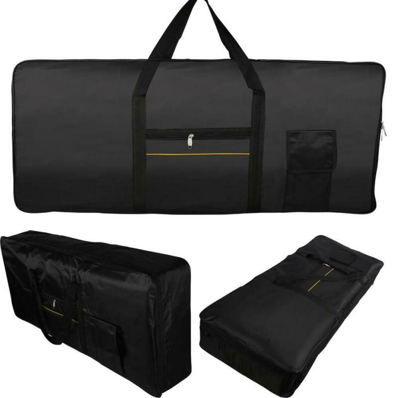 New Portable 61-key Electronic Keyboard  Gig Bag fabrics Black