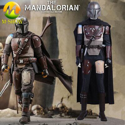 Star Wars The Mandalorian Cosplay Costume Vest Belt Accessories Halloween Props