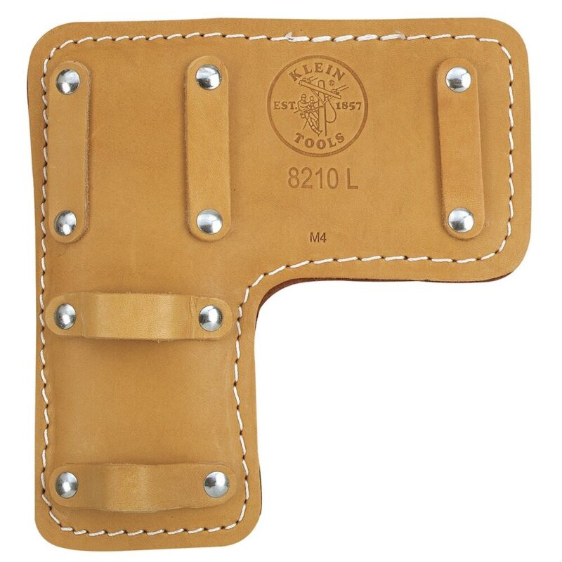 NEW KLEIN 8210 R & L LEATHER PADS FOR GAFF POLE CLIMBING LEG SPIKE LINESMAN TOOL