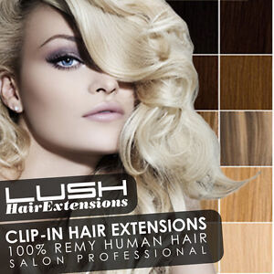 Lush Clip In Remy Human Hair Extensions Full Head Reviews 64