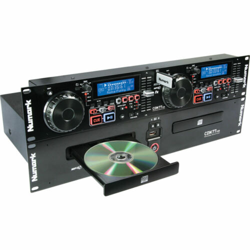 Numark CDN77USB Professional Dual USB/MP3 CD Player w/ Scratching
