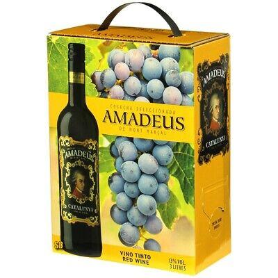 Amadeus Tinto Spanischer Rotwein 3L Bag in Box BiB 13% vol