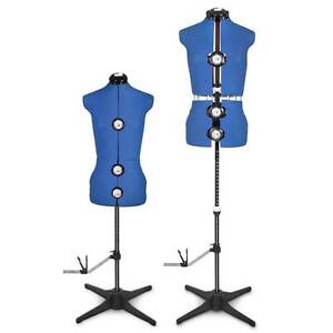 Adjustable Dressmaking Mannequin SZ8-14 - Blue Melbourne CBD Melbourne City Preview