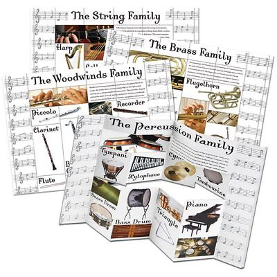 (Musical Instrument Categories Dimensional Bulletin Board Set Eureka EU-847743)