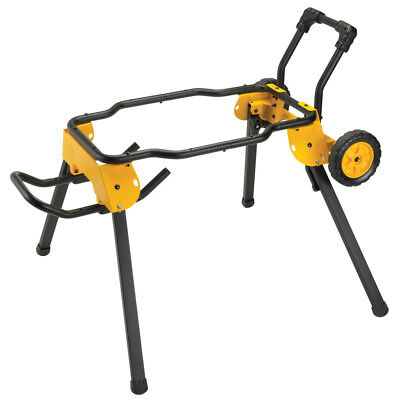 DeWalt DWE74911 31.5 lbs Rolling Table Saw Cart/Stand New