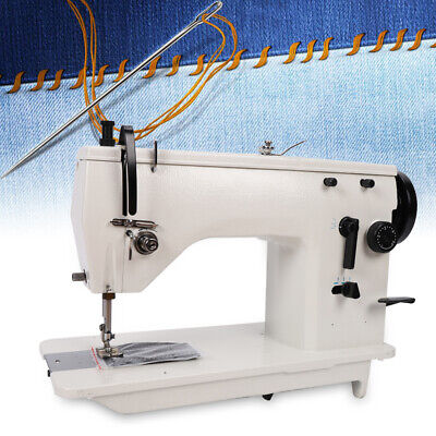 Electric Industrial Sewing Machine Walking Foot Seam Textiles Flat-bed Head Only