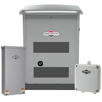 Briggs Stratton 12kw Standby Generator System W Wi-fi Steel 150a Servic...