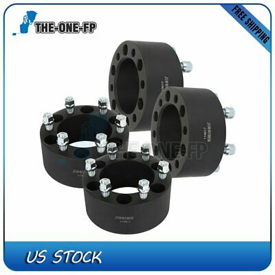 "4X 3"" 6x5.5 wheel spacers 108 mm 14x1.5 for Chevrolet Silverado 1500"