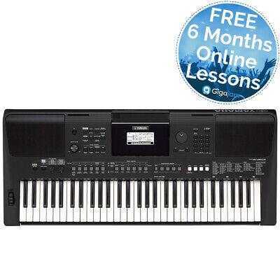 Yamaha PSRE463 61 Note Portable Keyboard