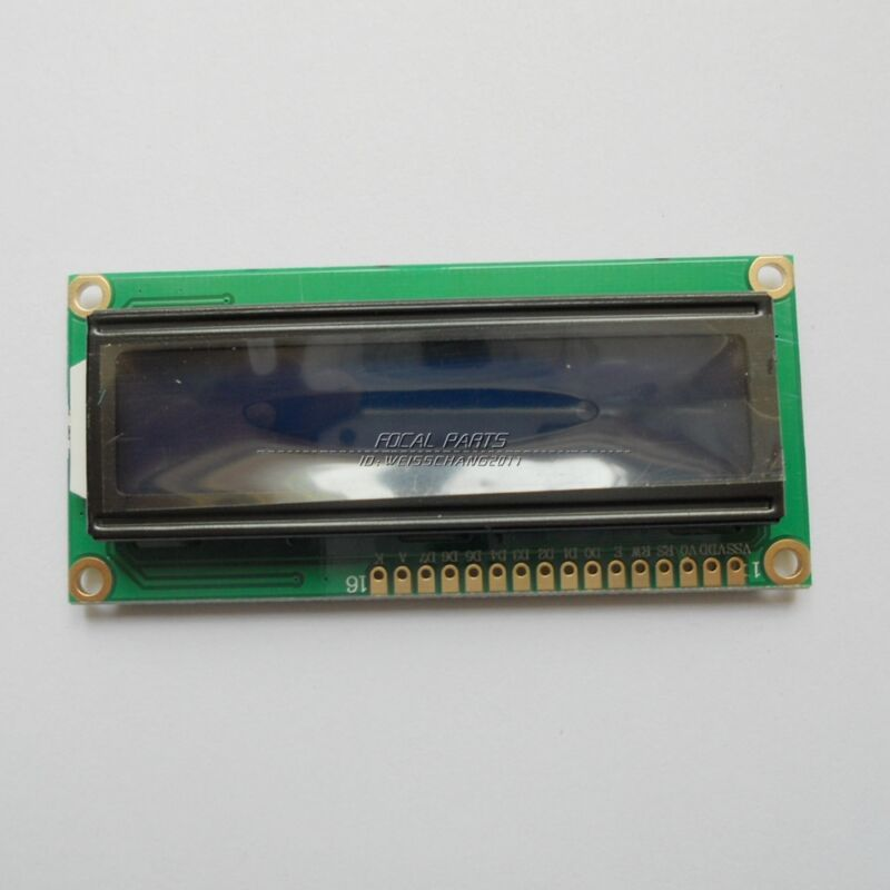 2 Pack LCD 1602 Blue screen + backlight display 1602A 5v module for arduino N68