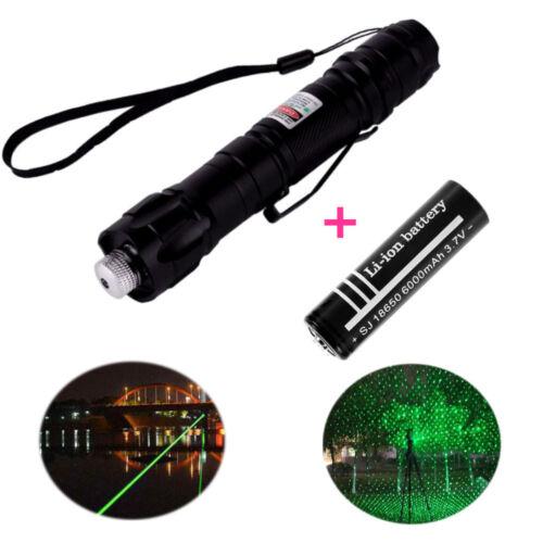 Powerful Beam Laser Pointer Laser Light Laser 009 Green Portable Burning Match