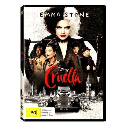 Cruella [DVD] [2021] NEW*** Comedy, Crime*** FREE SHIPPING!!!