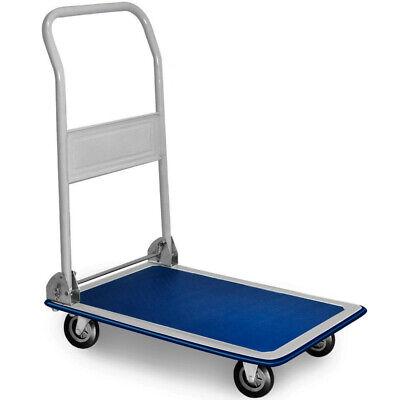 Carro Plataforma de Transporte Manual Plegable Carga máx. 150 kg Carretilla mano