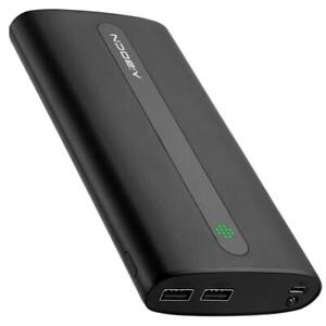 NEW Aibocn Power Bank 20000mAh Portable External Charger with Flashlight for Apple Phone iPad Samsung Galaxy Smartpho...