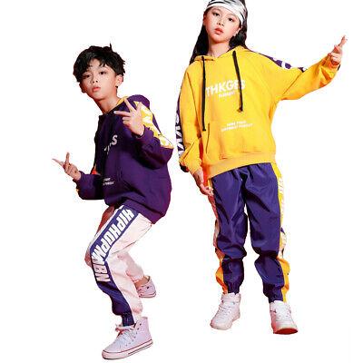 Kinder Jazz Hip-Hop Dancewear Kindertanz Mädchen Camouflage Kostüme