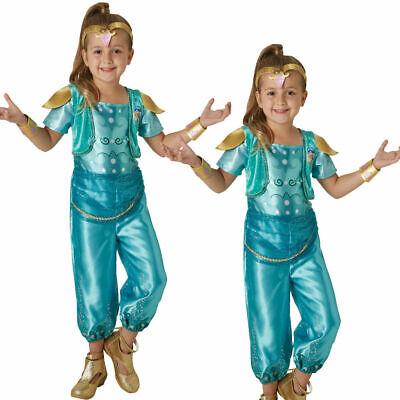Mädchen Schimmer & Glanz Kostüm Kinder Arabisch Nights - Mädchen Genie Kostüme