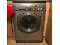 Hotpoint Aquarius Washing Machine, WMAQF 721G UK, 7KG load, with 1200 rpm - Graphite