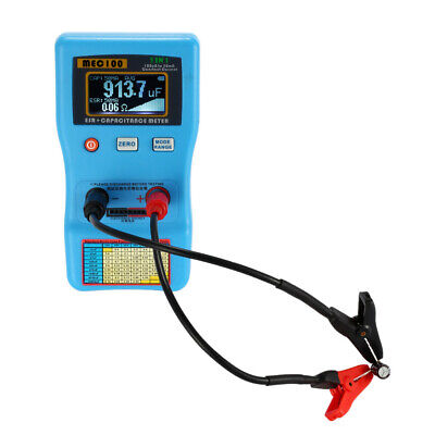 2 In 1 Digital Auto-ranging Capacitor Analyzer Esr Meter Capacitance Tester Z4a9