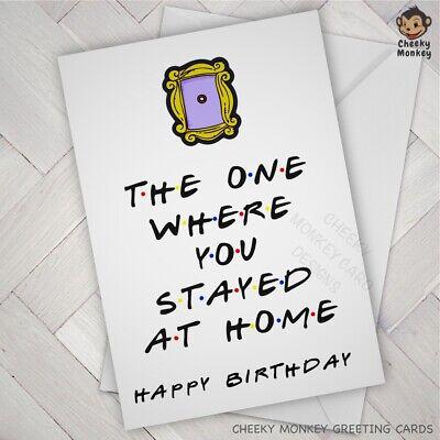 Funny BIRTHDAY CARD wife husband boyfriend girlfriend virus joke friends fan