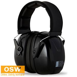 PREMIUM HEAVY DUTY 32DB CLASS 5 HEARING PROTECTION HEADBAND EAR MUFFS EARMUFFS