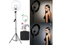 BRAND NEW: Cosmetic LED Ring Flash Light Kit for Makeup / youtube