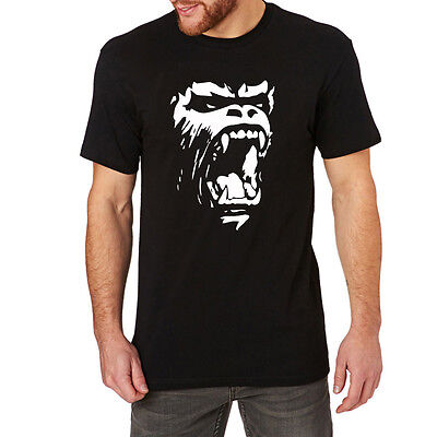 Mens Gorilla roar Fighter Macho T-Shirts Men - Gorilla Roar