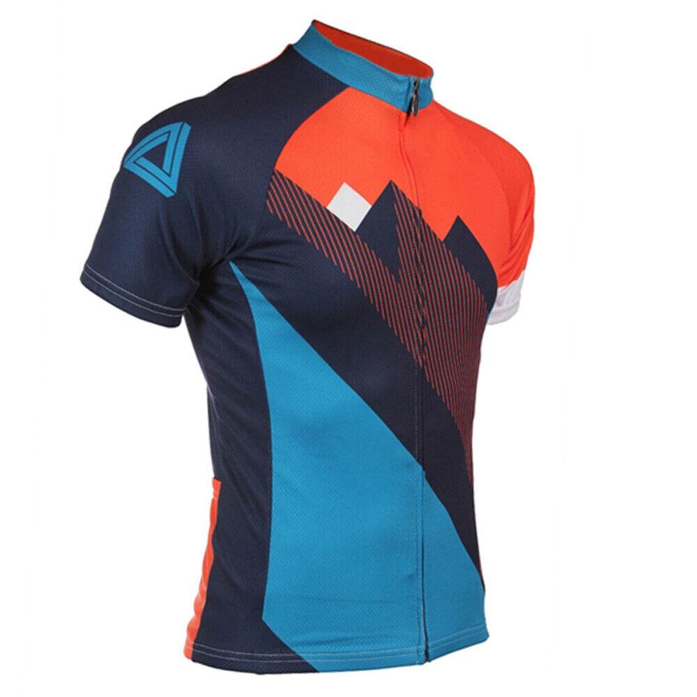 New Mens Cycling Jerseys Short Sleeve Racing Rode Bike Wear