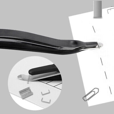 Plastic Stapler Nail Puller Documents Binding Needle Remover Office Hand Tool