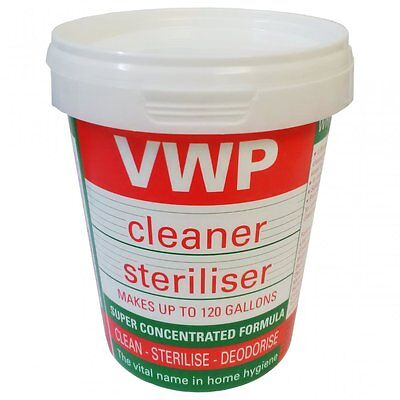 VWP Cleaner Steriliser Makes Up To 120 Gallons. 400g Home Brew Beer Wine Making