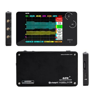 Ds212 Dso Portable 2 Channel Digital Oscilloscope Pocket Size Usb Interface