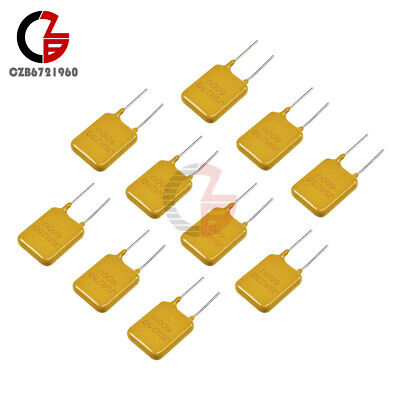 10pcs 0.65a 250v 650ma Polyswitch Resettable Fuse Poly Switch Fuses Polyfuse
