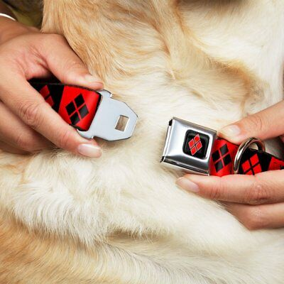 Superhero Pet Dog Cat Collar Buckle Metal Snap DC Comics Marvel Adjustable Strap - Superhero Dog Collars