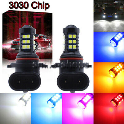 NEW 2Pcs 3030 Chip 30SMD LED Bulbs Conversion Kit Fog Lights Super High