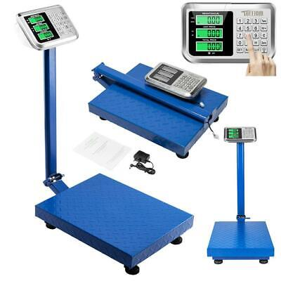 Heavy Duty 660lb 300kg Digital Weight Price Computing Scale Food Meat Shipping