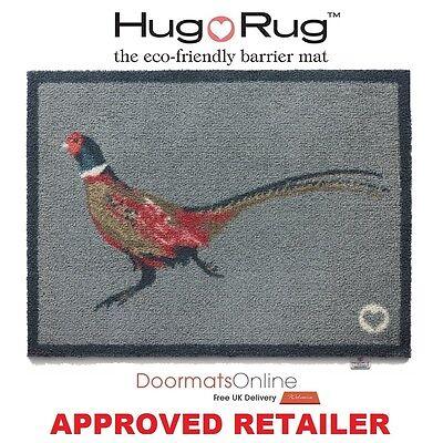 Hug Rug 85x65cm (PHEASANT 1) Dirt Trapper Door / Floor Mat Machine Washable