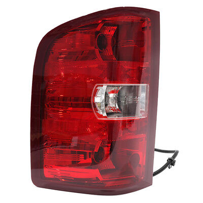 OEM NEW Tail Light Lamp Assembly Left Driver 2007-2014 Silverado Sierra 25958482 ()