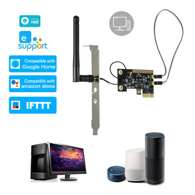 eWeLink Mini PCI-e Desktop PC Remote Control Switch Card WiFi Wireless J7B0