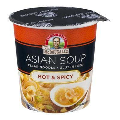 Dr. McDougall's-Hot & Spicy Clear Noodles Soup (12-1 oz cups)