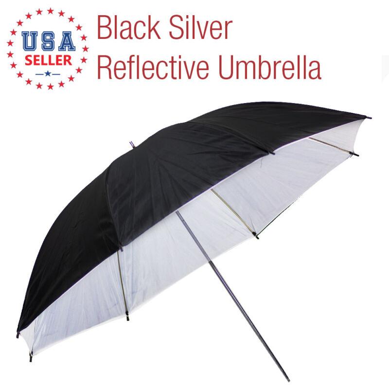 "40"" Black/White Premium Bounce Umbrella Light Modifier with 7mm Shaft"
