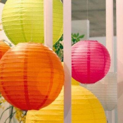 & OVP Rosa/Orange/Gelb oder Grün (Orange Lampions)
