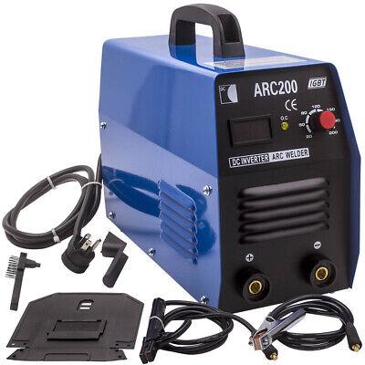Portable Arc-200 Inverter Welder Mma Igbt Handheld Welding Machine Kit