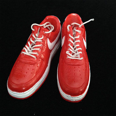 "1/6 scale NIKEAIR red Sport Sneaker Basketball shoes fit 12"" figure body toys#US"