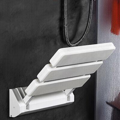 Wandmontage Dusch Klappbarer Duschsitz Klappsitz Duschhilfe Aluminiumlegierung