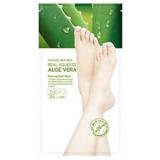 Nature Republic Real Squeeze Aloe Vera Peeling Foot Mask 25g