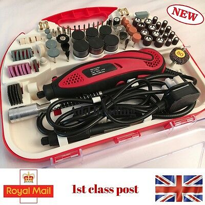210pcs Electric 135W Rotary Mini Drill dremel tool Grinder Set Hobby Craft Model
