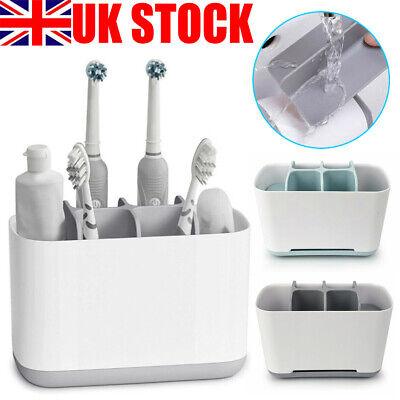 Electric Toothbrush Holder Large Bathroom Caddy Storage Organizer Bath Home Rack