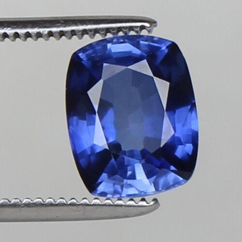 Natural Kashmir Royal Blue Sapphire 6.70 Ct Cushion Cut Certified Loose Gemstone